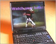 mein werkzeug, ThinkPad A31p