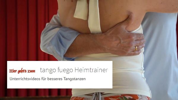 werbebanner - tango fuego Heimtrainer Unterrichtsvideos für besseres Tangotanzen